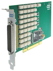 PCI 32xSPST 2Amp Relay Card