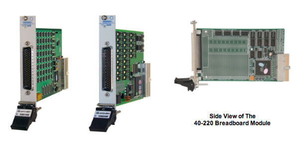PXI Digital I/O, Prototyping and Switch Simulator Modules