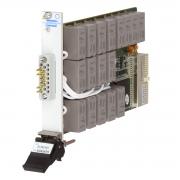 Single 8x2 1-Pole 16 Amp PXI Power Matrix With Loop-Thru