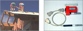 Datalogger for surveillance of building drying