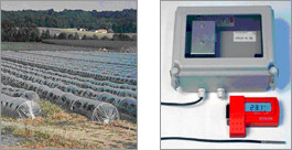 Datalogger for ground temperature measurements