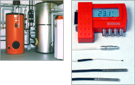 Datalogger for heating systems