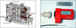 Datalogger for process temperature of foodstuffs
