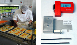 Datalogger in hospital kitchens